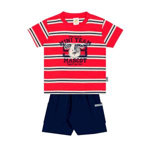Conjunto-Camiseta-Meia-Malha-Fio-Penteado-Bermuda-Nylon-Listrado-Vermelho-Marinho---Pulla-Bulla