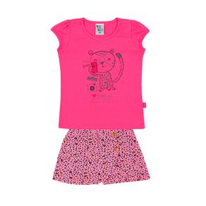 Conjunto-Blusa-Cotton-Leve-Fio-Penteado-Short-Saia-Cotton-Leve-Fio-Penteado-Pink-Rotativo-Chiclete---Pulla-Bulla