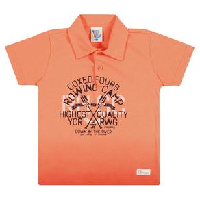 Camiseta-Polo-Meia-Malha-Fio-Penteado-Laranja---Pulla-Bulla
