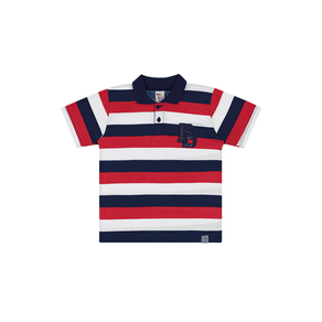 Camiseta-Polo-Meia-Malha-Rotativa-Fio-Penteado-Rotativo-Vermelho---Pulla-Bulla