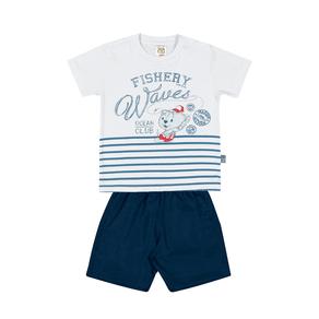 Conjunto-Camiseta-Meia-Malha-Fio-Penteado-Bermuda-Nylon-Branco-Marinho---Pulla-Bulla