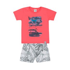 Conjunto-Camiseta-Meia-Malha-Fio-Penteado-Bermuda-Nylon-Sublimado-Coral-Rotativo-Cinza---Pulla-Bulla