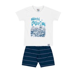 Conjunto-Camiseta-Meia-Malha-Fio-Penteado-Bermuda-Nylon-Sublimado-Branco-Rotativo-Marinho---Pulla-Bulla