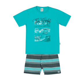 Conjunto-Camiseta-Meia-Malha-Fio-Penteado-Bermuda-Nylon-Sublimado-Piscina-Rotativo-Piscina---Pulla-Bulla