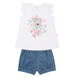 Conjunto-Blusa-Cotton-Leve-Fio-Penteado-Short-Jeans-Poa-Branco-Jeans-Poa---Pulla-Bulla