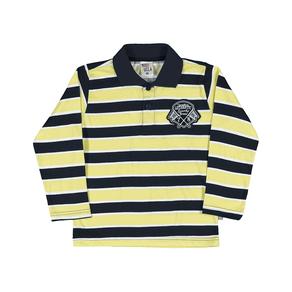 Camiseta-Polo-Masculina---Listrado-Limao----Pulla-Bulla