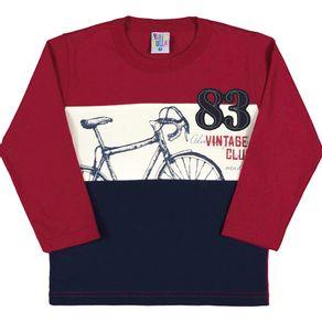 Camiseta-Masculino-Primeiros-Passos---Carmim---35754-300---Pulla-Bulla---Inverno-2017