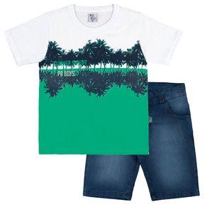 Conjuntos-Menino-Infantil---Verde---36873-63---Pulla-Bulla---Alto-Verao-2018
