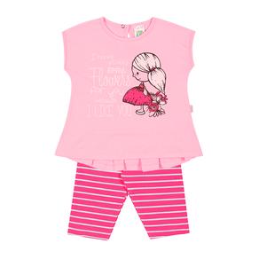 Conjunto-Blusa-Meia-Malha-Fio-Penteado-Legging-Cotton-Fio-Tinto-Penteado-Rosa-Listrado-Pink---Pulla-Bulla