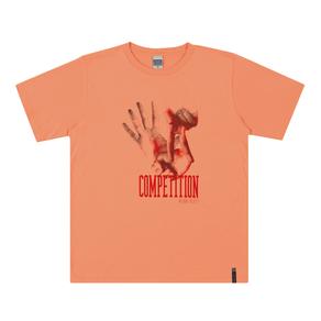 Camiseta-Meia-Malha-Fio-Penteado-Laranja---Pulla-Bulla
