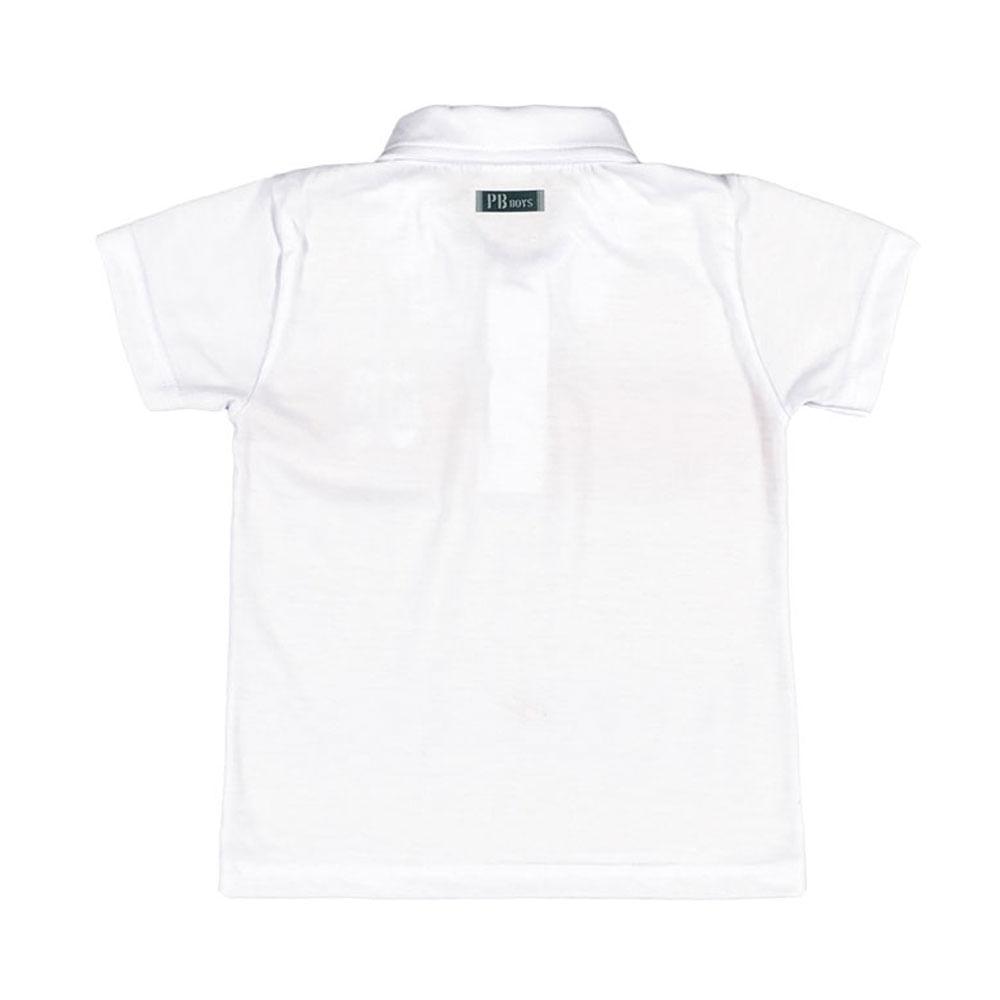 Camiseta Masculina Bebê - Branco
