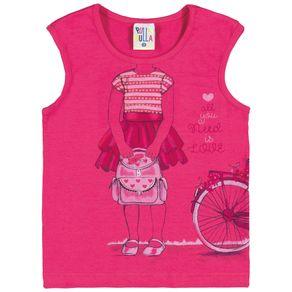 Blusa-Menina-Primeiros-Passos---Pink---36200-301---Pulla-Bulla-Primavera-Verao-2018