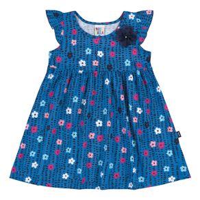 Vestidos-Menina-Primeiros-Passos---Azul---36707-516---Pulla-Bulla---Alto-Verao-2018