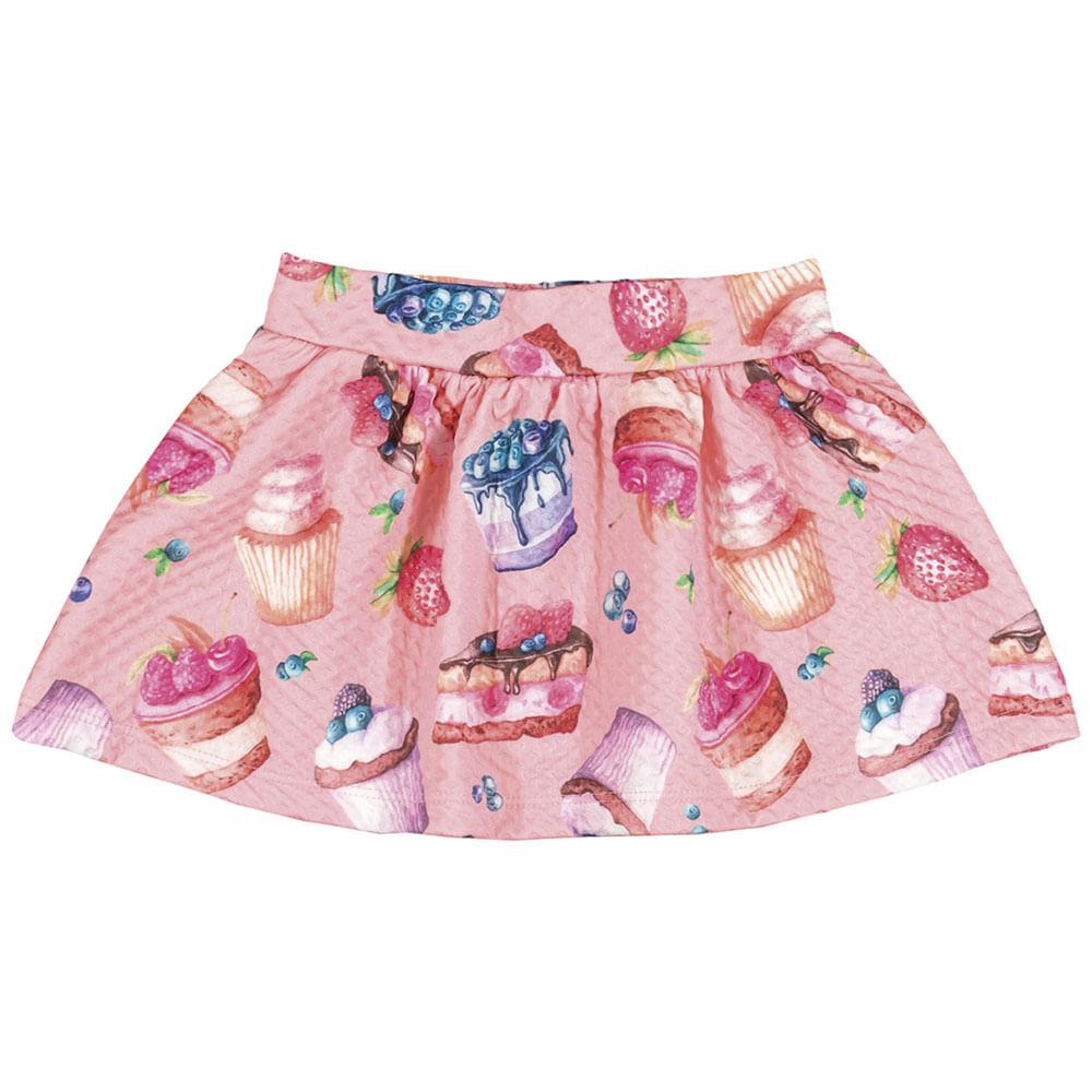 Conjunto Rosê Bebê Menina Cotton 36114-11
