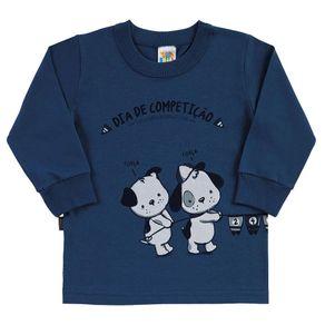 Camiseta-Bebe-Menino---Petroleo---38552-342-G---Pulla-Bulla---Inverno-2019