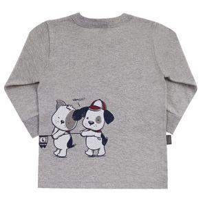 Camiseta-Bebe-Menino---Mescla-Cinza---38552-567-G---Pulla-Bulla---Inverno-2019