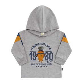 Camiseta-Bebe-Menino---Mescla-Cinza---38555-567-G---Pulla-Bulla---Inverno-2019