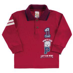 Camiseta-Bebe-Menino---Bordo---38558-1085-G---Pulla-Bulla---Inverno-2019