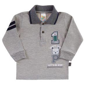 Camiseta-Bebe-Menino---Mescla-Cinza---38558-567-G---Pulla-Bulla---Inverno-2019