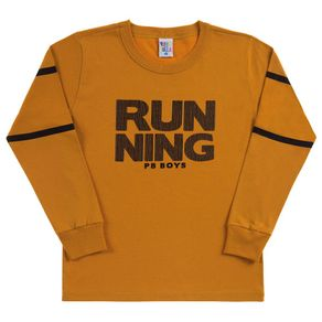 Camiseta-Infantil-Menino---Ocre---38752-345-10---Pulla-Bulla---Inverno-2019