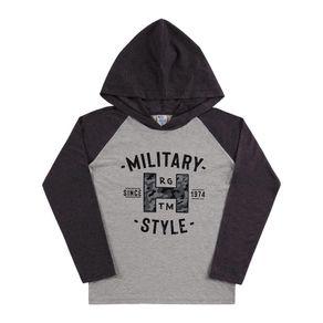 Camiseta-Juvenil-Menino---Mescla-Preto---38856-876-12---Pulla-Bulla---Inverno-2019