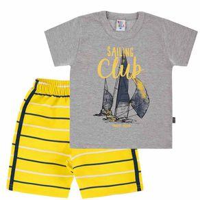 Camiseta-Primeiros-Passos-Menino---Mescla-Cinza--39272-567-1---Primavera-Verao-2019