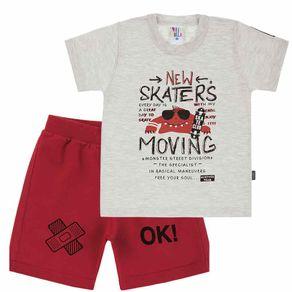 Camiseta-Primeiros-Passos-Menino---Mescla-Banana--39275-60-1---Primavera-Verao-2019