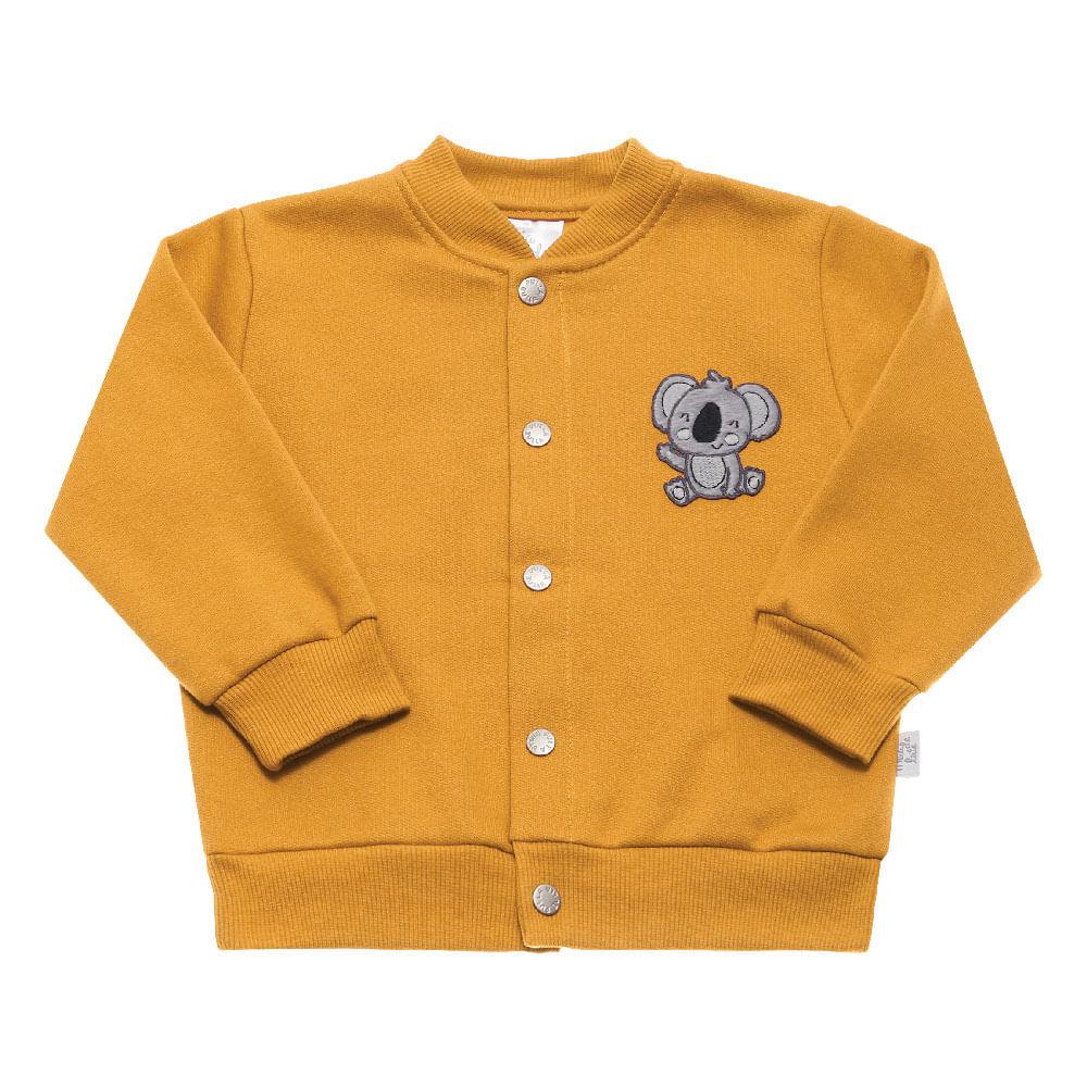Conjunto Ocre - Bebê Menino Moletom 111158-4