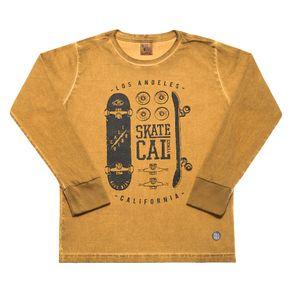 Camiseta-Infantil-Menino---Ocre---42355-4-10---INVERNO-2020
