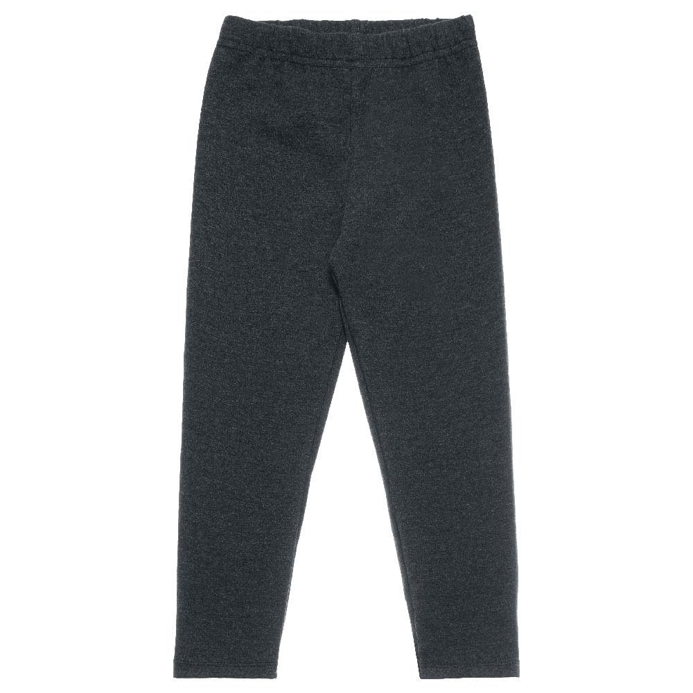 Legging Mescla Preto - Primeiros Passos Menina Cotton 42206-330