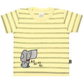 Camiseta-Bebe-Menino---Listrado-Amarelo---43653-53-M---Primavera-2020