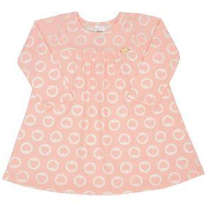 Vestido-Manga-Longa-Bebe-Menina---Rotativo-Rose-45209-262-G---Inverno-2021