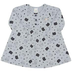 Vestido-Manga-Longa-Bebe-Menina---Rotativo-Mescla-Cinza-45211-1053-G---Inverno-2021