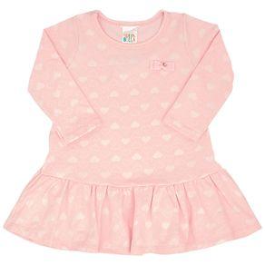 Vestido-Manga-Longa-Bebe-Menina---Rose-45212-11-G---Inverno-2021