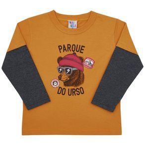 Camiseta-Manga-Longa-Primeiros-Passos-Menino---Ocre-45354-345-1---Inverno-2021