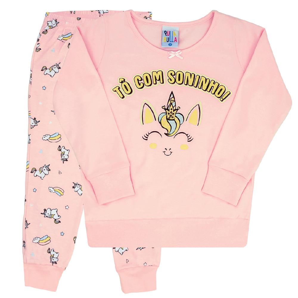 Conjunto Pijama Rosê - Infantil - Menina 4 45140-11
