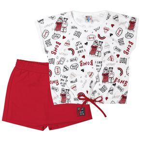 Conjunto-Manga-Curta-Infantil-Menina---Branco-Vermelho-46325-579-4--Primavera-Verao-2021